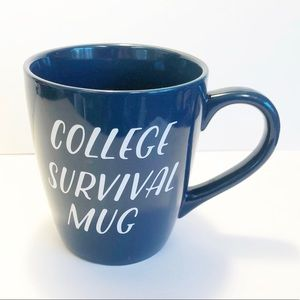 CANVAS ART College Survival Blue Jumbo Size Mug